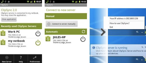 Clipsync   同步 Win 和 Android 剪贴板