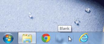 Blank.exe   给任务栏加一个透明按钮,充当占位符