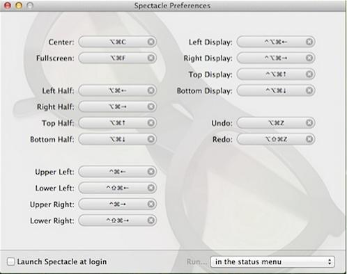 Spectacle    快捷键窗口管理[OSX]