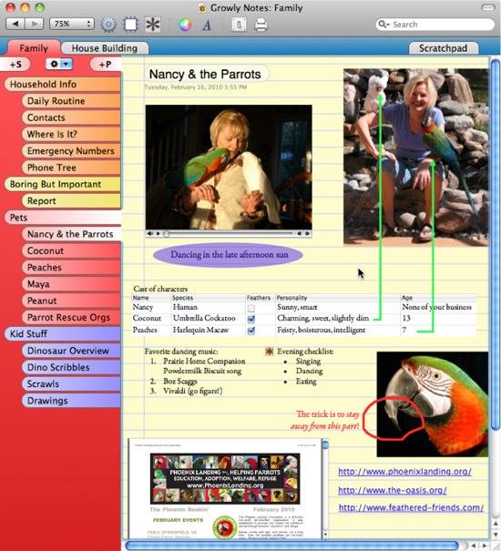 Growly Notes   Mac 上最类似 OneNote 的笔记软件
