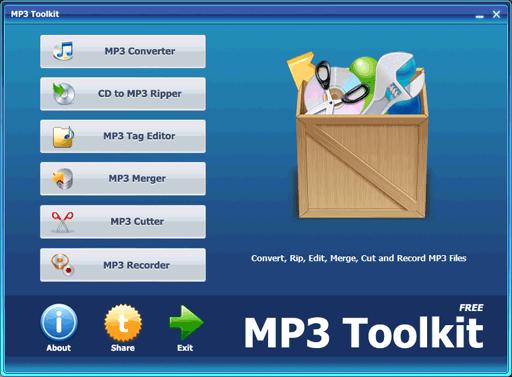 MP3 Toolkit   MP3 六合一工具箱