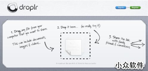 Droplr   一拖乐,最简单的分享工具