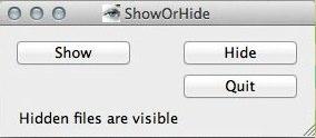 ShowOrHide   开关隐藏文件的显示[Mac]