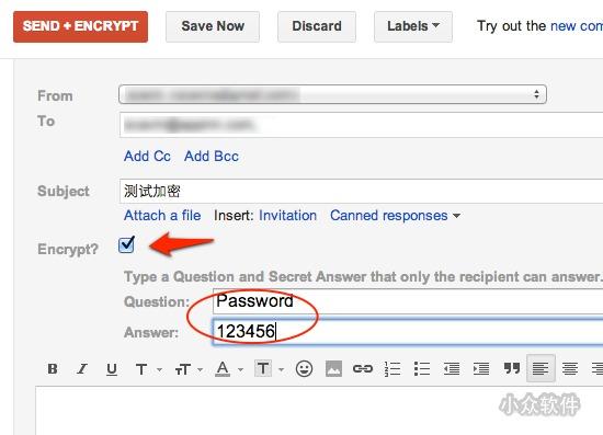 SafeGmail   为 Gmail 加密发送邮件内容[Chrome]