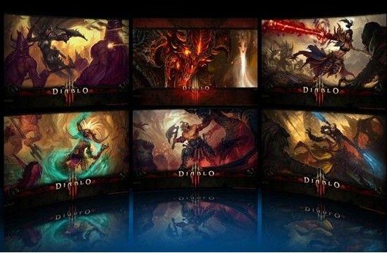Diablo III Extreme Theme   暗黑3 Windows7 主题