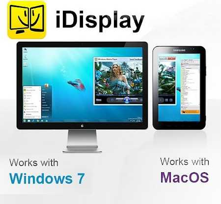 iDisplay   用移动设备来扩展你的电脑桌面(全平台)