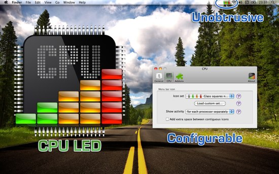 CPU LED   菜单栏监视 CPU 负载 [Mac]