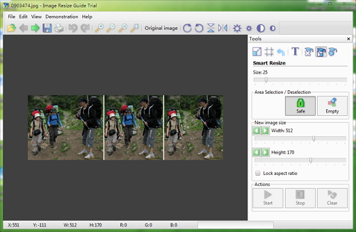 Image Resize Guide   智能缩放图片工具