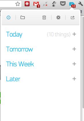 Any.DO 任务列表程序登陆 Chrome & iOS