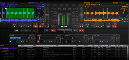 Mixxx   专业DJ混音软件