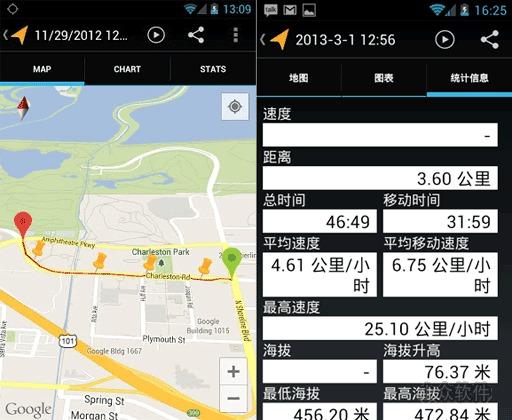 我的足迹   用 Android 手机记录你的出行线路