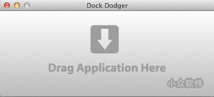 Dock Dodger   从 Dock 隐藏正在运行的 App 图标[OS X]