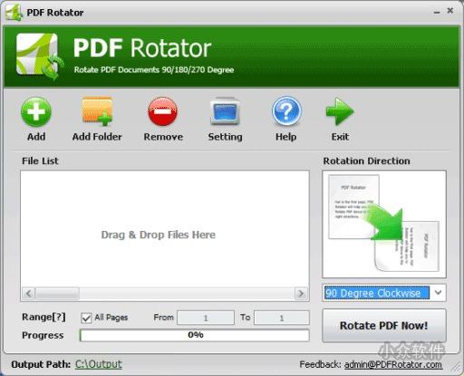 PDF Rotator   旋转你的 PDF 文档